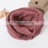 Ladies American Trend Chunky Thick Knitted Fashion Eternity Infinity Loop Scarf