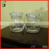 Home Decoration Soy Wax Jar Candlestick Holder Custom Made Glass Candle