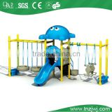 kids plastic swing slide, guangzhou playground swing slide sale, indoor and outdoor swing and slide commercial used
