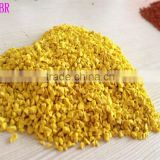 HOT SALES colored EPDM rubber granule crumbs for sports court