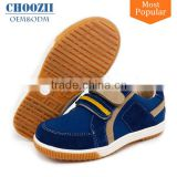China Guangzhou Custom OEM Suede School Child Sneakers with Rubber Sole