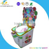 Attractive candy gift machine top sale colorful lollipop gift machine arcade crane game lollipop