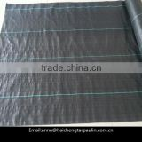 Black PP woven weed barrier,woven weed control fabric,PP ground cover for garden