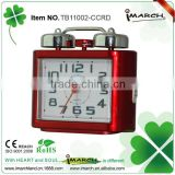 Twin bells plastic alarm clock for kids are safer