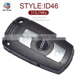 Keyless go for BMW 3 5 series smart card ID46 chip 315 LP frequency remote key (AK006026)