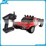 Brushed esc rc electric car/ rc model monster cars new&hot 1/18th 4WD rc car electric high speed monster brushed esc