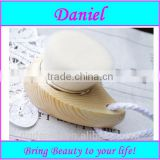 Fashion Wooden cleansing facial brush ,white face brush with synthetic hair