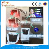 laser helmet hair regrowth machine laser hair extension device with free logo service for sale