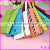 Beauty Women Coin Purse Wallet Woven Mobile Phone Pouch Case Candy Color Mini hand Bag New