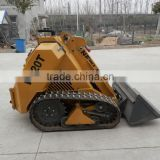 mini Bobcat skid steer loader with Kohler engine,26hp for sale