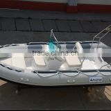 2014 luxury pvc inflatable rib boat