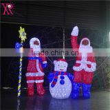 Professional holiday giant led Christmas outdoor decoration commercial pubilc decoration light