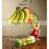 H2219 wire apple holder with banana hanger