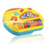educational electronic toys, animal plastic mini toy pianofor kids
