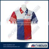 2015 sublimation custom motorcycle top shirt motorbike racing suit team motorcosse polo design