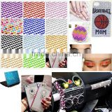 DIY Self Adhesive Rhinestone Crystal Bling Stickers phone Car Art Sales