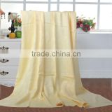55*105CM new and fashion design Professional solid color 70% bamboo fiber 30% cotton towel
