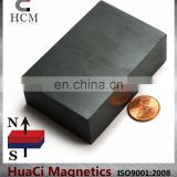 "Ferrite Magnets Block C8 3""X2""X1"" Hard Ceramic Magnet Block"