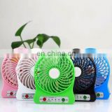 Rechargeable Small Electric Plastic Fashion Usb Desk Fan