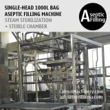 1000 Litre Bag Aseptic Filling Machine IBC Liner Bag Aseptic Filler