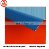 2000x2000 Double color blue red fire resistance durable popular roll PVC tarpaulin in coated