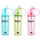 summer Spray drinking water bottle with little MOQ