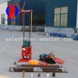 QZ-2D three phase electric sampling drilling rig/The 30m three-phase electric core drill is simple and light in structure