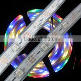 Tube Waterproof DC5V Dream Color Changing & Full Color Changing RGB WS2812 Flexible LED Strip Euipped with 5050 SMD
