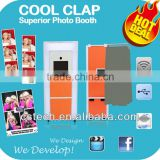 Hot Sale Touch Screen Photo Sticker Machine For Rental