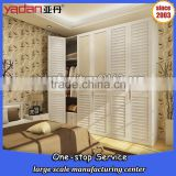 wooden 3 doors wardrobe closet,wood wardrobe with louvered doors,wardrobe cabinet designs                                                                         Quality Choice