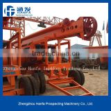 2015 best choice!Most popular in the market!!!HF-6A trailer type most powerful strong piling rig