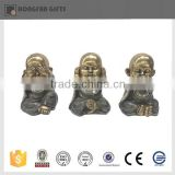 resin cute hot sell small baby buddha statue for home ornament