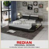 Redian double bed with storage