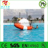 Inflatable Saturn giant inflatable rocker floating inflatable water spinner