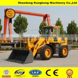 used small graden tractor loader backhoe with ce machine manufacturer ZL30F