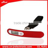 2015 new electronic gadgets UV protective shiny surface portable luggage scale for souvenir and christmas gift