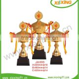 professional custom big gold basketball trophy