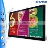 outdoor advertising LED light flex banner aluminum frame