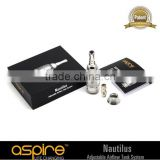 100% original genuine with letter of authorization agent aspire pyrax glass tank wholesale aspire nautilus bdc