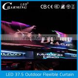 New arrival !!!outdoor usage light waterproof ip65 led curtains for stage backdrops for sale