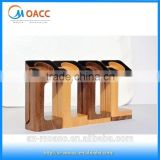 Strong and light Natural wood watch stand watch display stand for apple watch