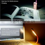 with charging data sync LED light USB 2.0 made in china