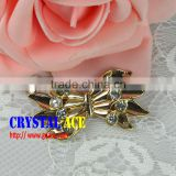 Wholesale Decorative Rhinestone Buckles, crystal rhinestone ribbon buckle for garment accessories