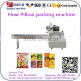 Horizontal Flow soda biscuit packaging machinery, biscuit packing Machine
