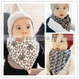 India manufacturer custom-made born baby bibs bandana