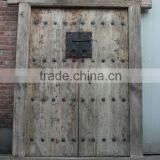 Chinese natural elm wood folding antique doors                                                                         Quality Choice