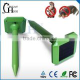 GH-316D Good price outdoor solar mole gopher rodent repeller