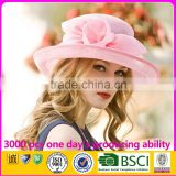 Women Church Hats For Wedding Sinamay Philippine Fabric For Hats                                                                         Quality Choice