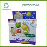 Most popular non-toxic mini baby bath basket ball game toy