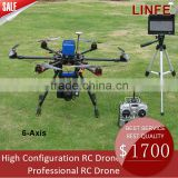 Linfe Mihawk UA007 Hexacopter RC Drone with Gimbal/GPS/FPV                                                                         Quality Choice